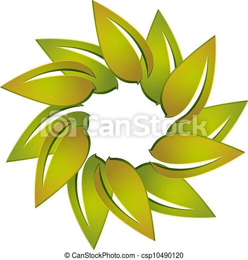 Leafs logo vector - csp10490120