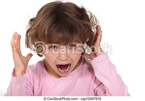 叫ぶこと, 子供 - csp10497916