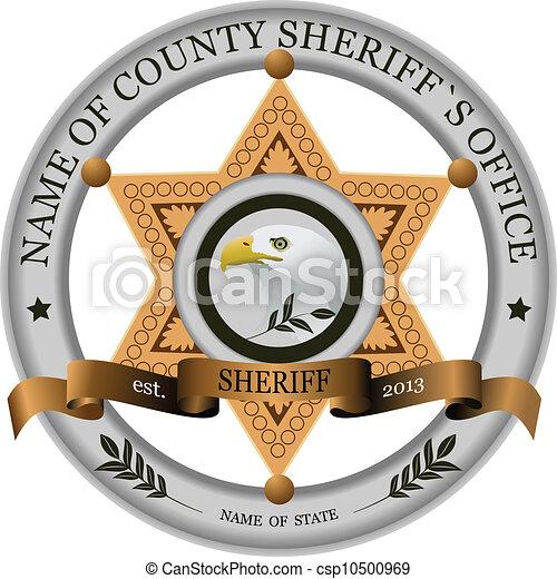 Sheriff badge Stock Illustration Images. 3,018 Sheriff badge ...