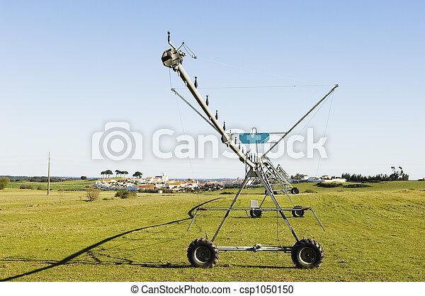 Resting irrigation pivot - csp1050150