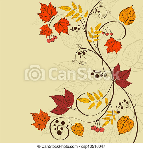Fall background - csp10510047