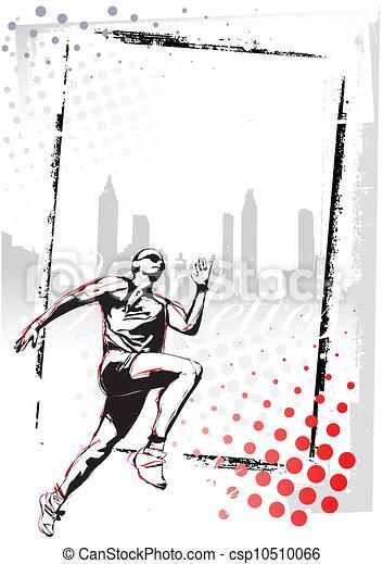 athletics poster  - csp10510066
