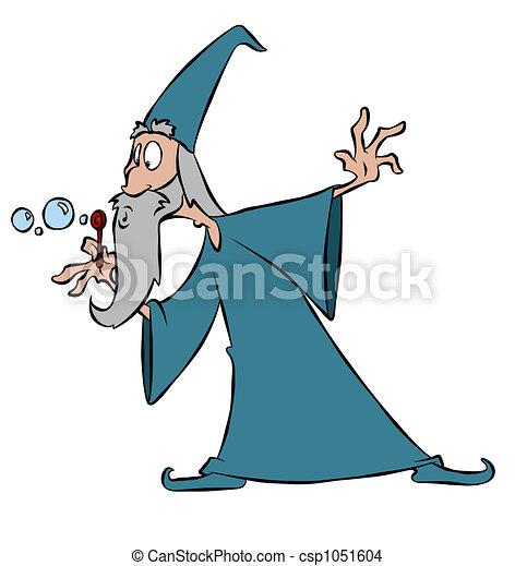 Bubble Wizard - csp1051604