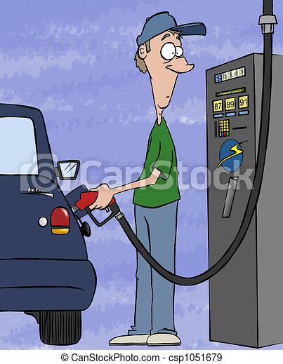 Pumping Your Wallet - csp1051679