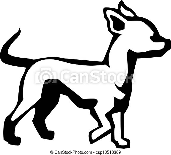Chihuahua Outline chihuahua illustrations and clipart. 776 chihuahua ...