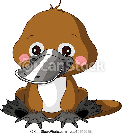 vecteur clipart de amusement  ornithorynque  zoo fun rhinoceros images clipart rhinoceros clip art black and white