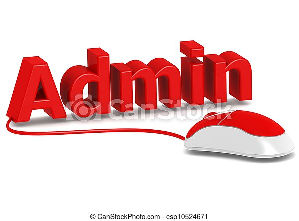 Picture Of Administration And Computer Mouse Rendered