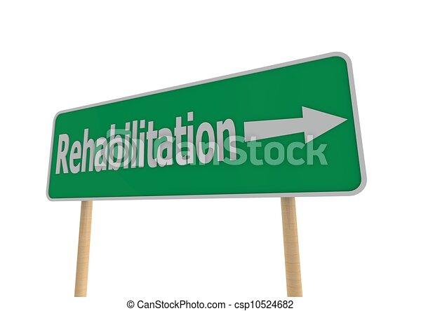 Rehabilitation concept - csp10524682