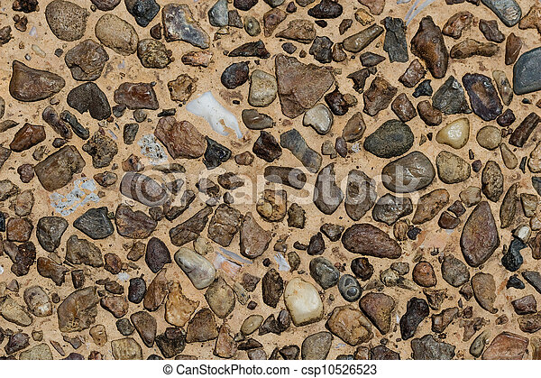 Stone wall background - csp10526523