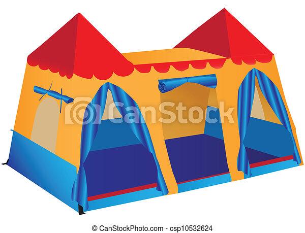 Fantasy palace play tent - csp10532624