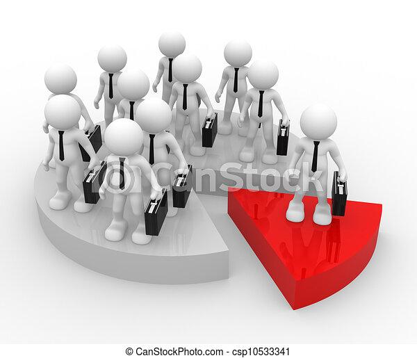 Businessmen - csp10533341