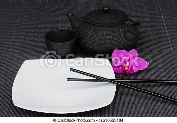 asian food concept - csp10535184