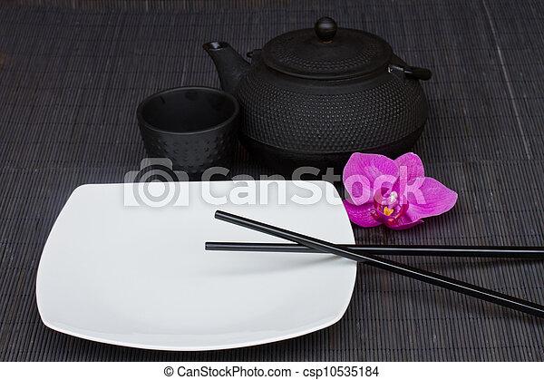 asian food concept - csp10535184