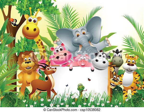 Animalitos de la selva fondos - Imagui
