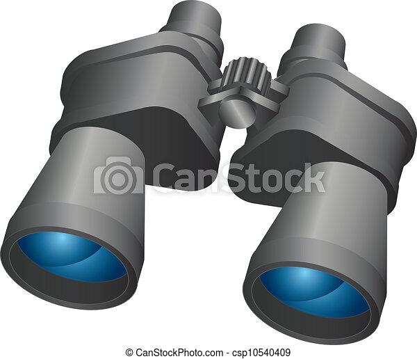 Binoculars,vector design,icon - csp10540409
