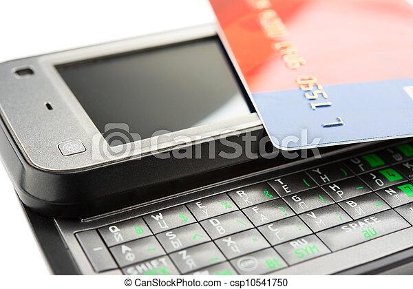 Mobile banking - csp10541750