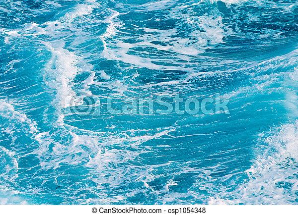 ocean waves - csp1054348