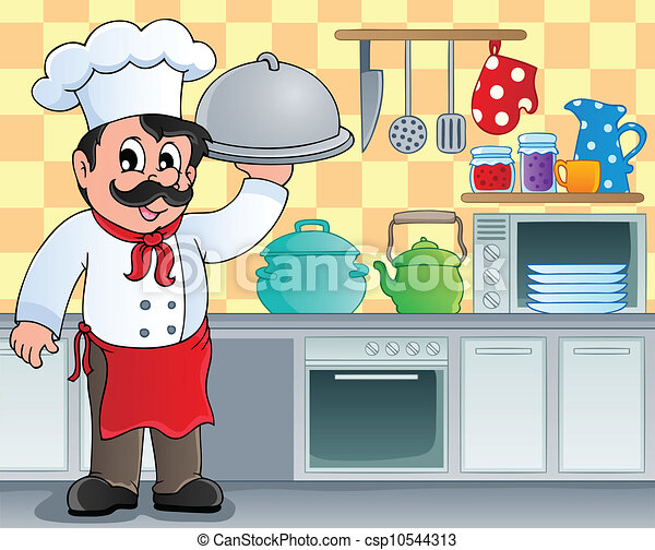 Restaurant Kitchen Clipart
