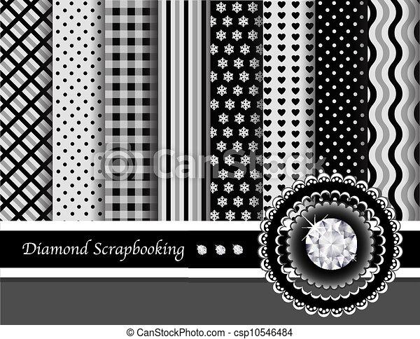 Diamond scrapbooking - csp10546484