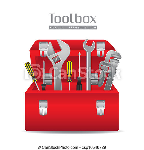Illustration of tools - csp10548729