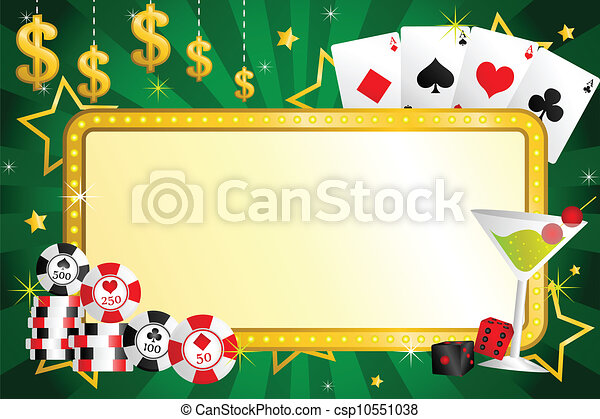 Gambling background - csp10551038