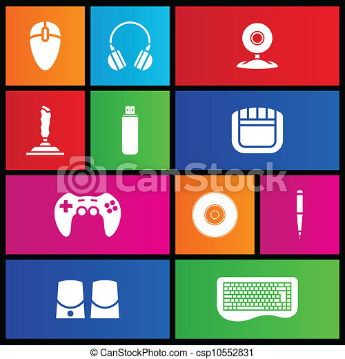 Metro style PC accessories  - csp10552831