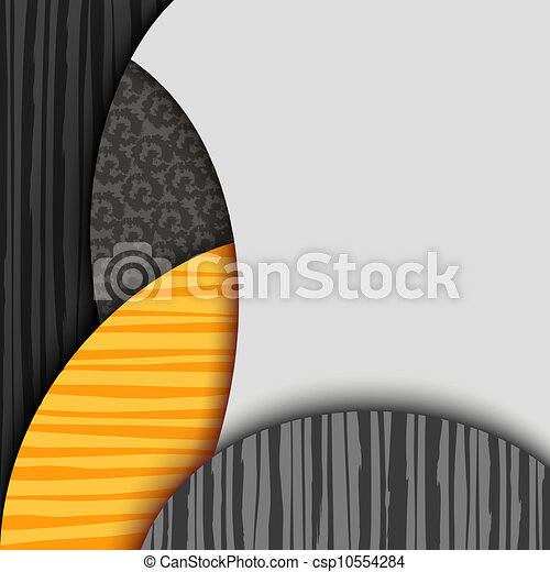 Abstract background with patterned layers - csp10554284