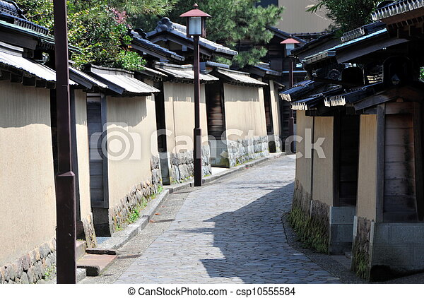 Historic Samurai house street - csp10555584