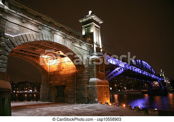 bridge in Moscow - csp10558903
