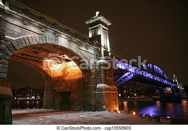 bridge in Moscow - csp10558903