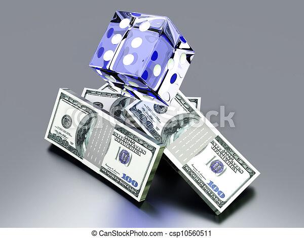 Money Gambling - csp10560511