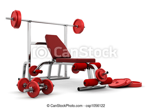Gym equipment - csp1056122