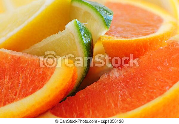 Citrus wedges - csp1056138