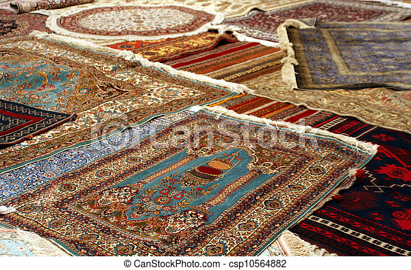 persian carpet - csp10564882