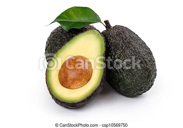 Ripe Organic Avocado - csp10569750
