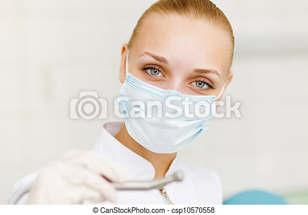 A portrait of a dental worker - csp10570558