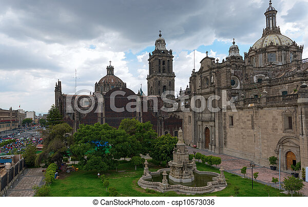 The Metropolitan Cathedral in Mexico city - csp10573036