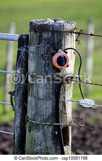 Electric Fence  - csp10581198