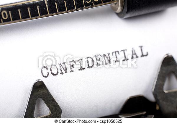 confidential - csp1058525