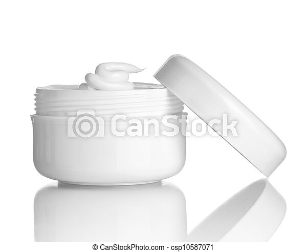 beauty cream container hygiene health care - csp10587071