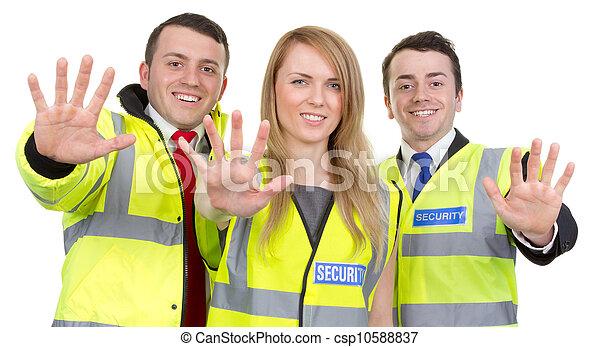 sicurezza, guardia, squadra - csp10588837