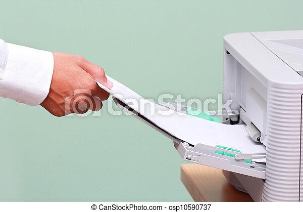 Как сделать печать в офисе