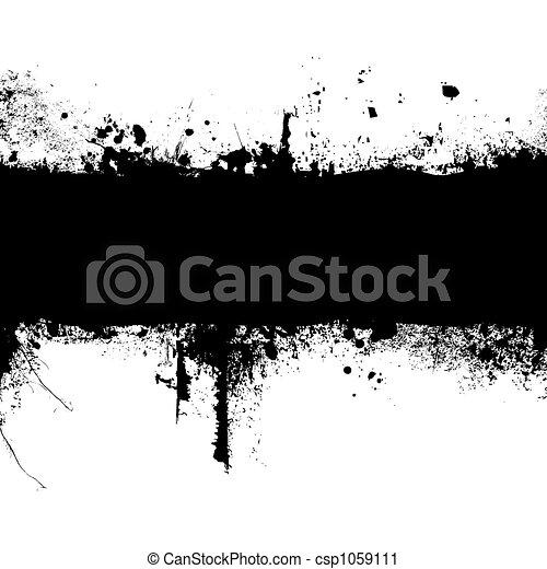 gothic banner - csp1059111