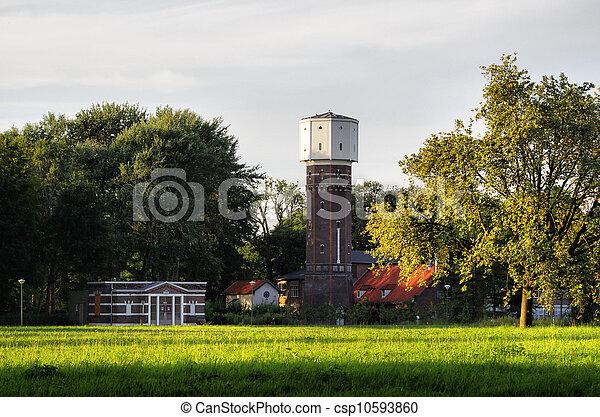 Dutch water tower - csp10593860