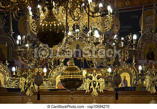 church inside - csp10594270