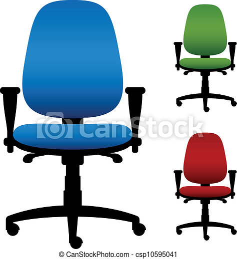 EPS Vector of vector office chairs csp10595041 - Search ...