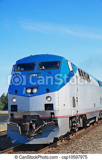moteur, train - csp10597975