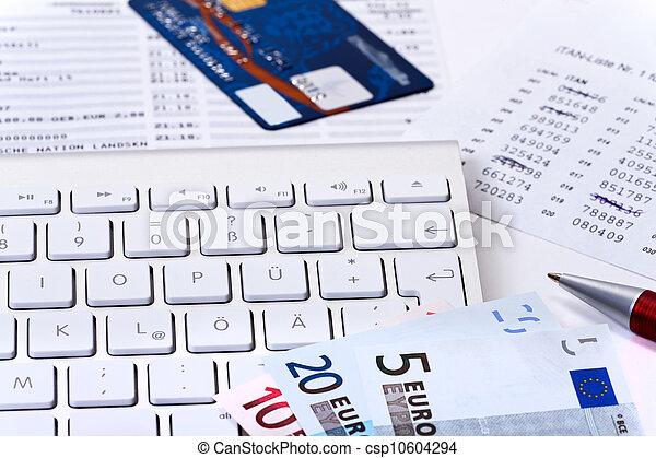 Online banking - csp10604294