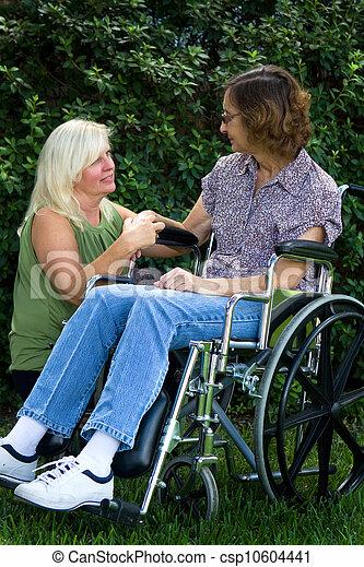 Caregiver Comforter - csp10604441