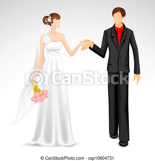 Vecteur Mari 233 S Couple Banque D Illustrations Illustrations Libres De Droits Banque De